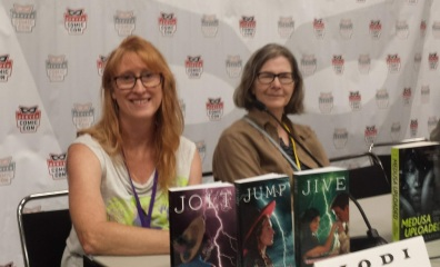 Authors Jodi Bowersox and Emily Devenport.