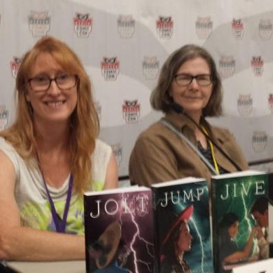Authors Jodi Bowersox and Emily Devenport.
